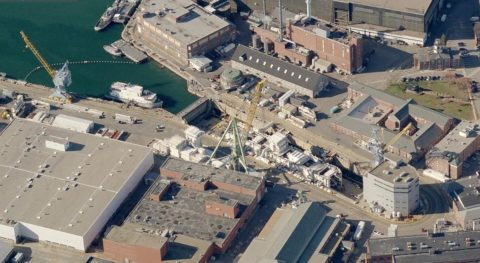 Terracon provided geotechnical and construction materials engineering to the Portsmouth Naval shipyard reconstruction