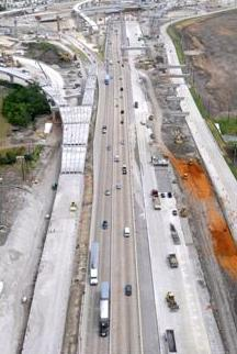 Terracon performed construction materials engineering and testing services on Segment 4 of the 121 Tollway.
