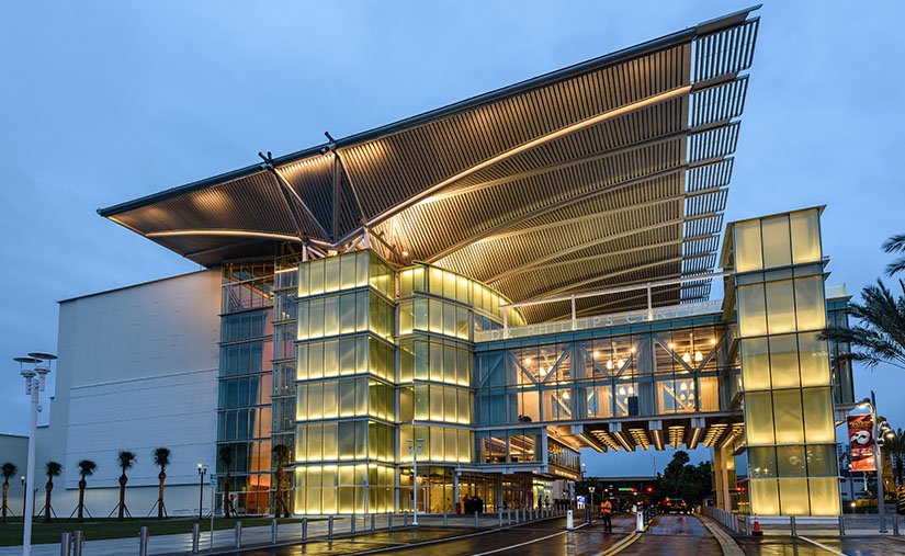 Dr. Phillips Center for the Performing Arts in Orlando, Florida.