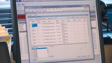 Terracon's CMELMS deviation screen