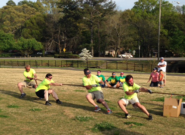 Terracon's Birmingham office competed in the third annual Faux-lympics to benefit the Gateway Foundation of Birmingham.