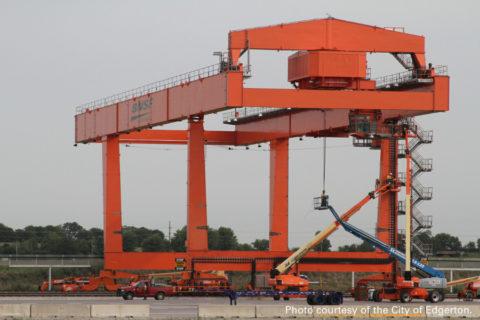 BNSF Crane