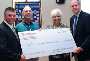 Scott Parrish, Sarasota, Kiwanis Club of Bradenton Foundation, Inc.