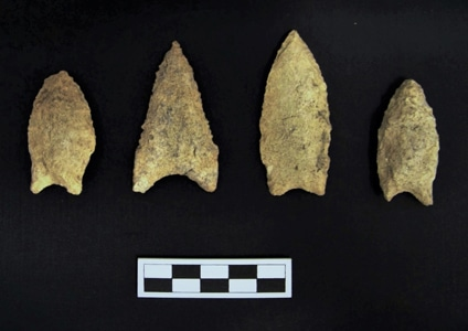 Terracon's Phase II archaeological team discovered Native American artifacts. Terracon believes it's important to preserve archaeological heritage.