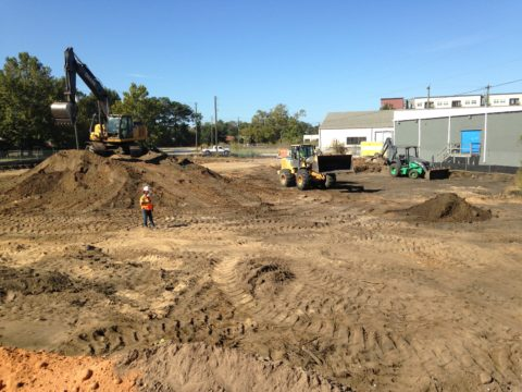 Site Excavation and Soil Stockpile