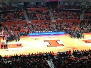 University of Illinois basketball court