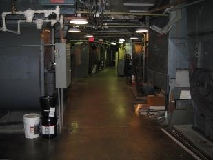 North mechanical room