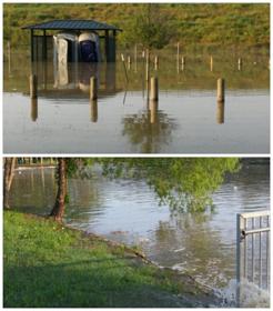 Dallas Lake Rainfall