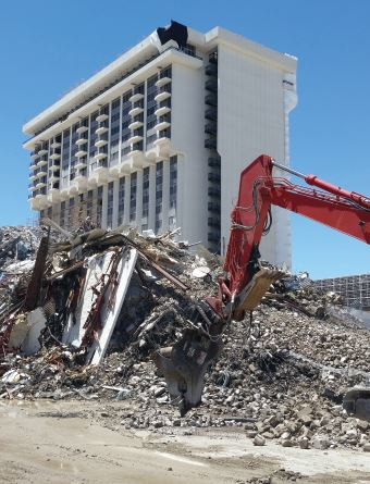 Riviera Hotel and Casino demolition