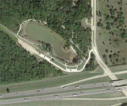 Terracon evaluated the causes of lake water loss in a lake in Dallas.