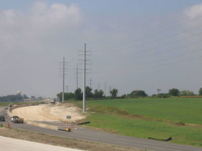 Construction materials testing and inspection services for the Highway 130 project in Texas was provided by Terracon.