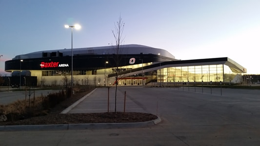 Completing Baxter Arena in time for hockey season required innovative solutions from the Terracon geotechnical engineers.