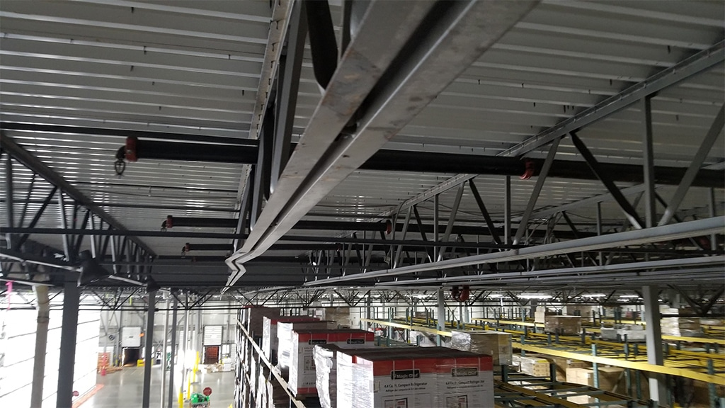 Image of joist south of gridline