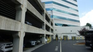 NC parking structure