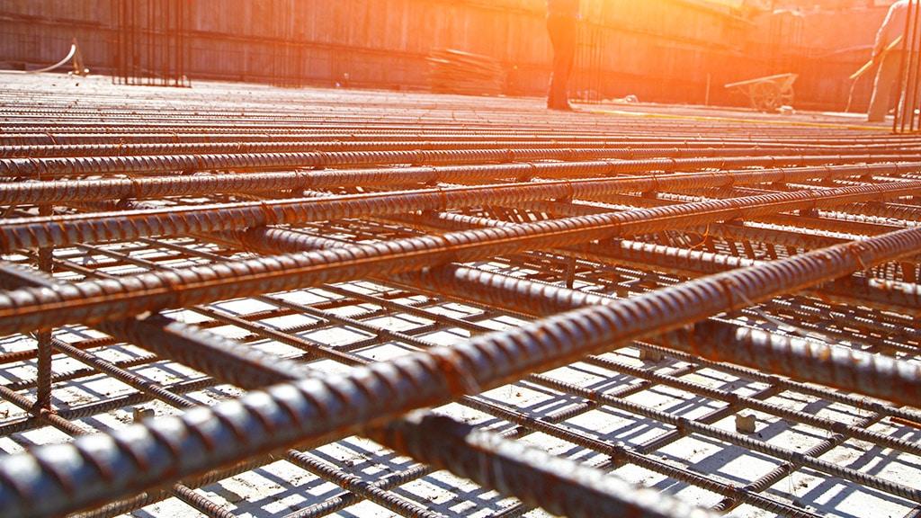 Concrete reinforcing steel