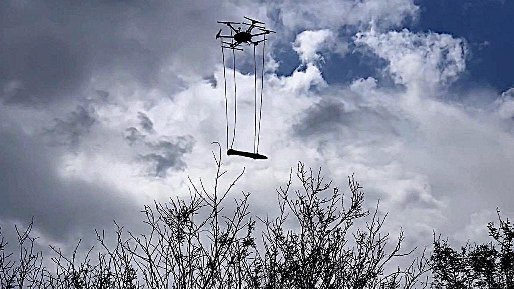 UAV with magnetometer