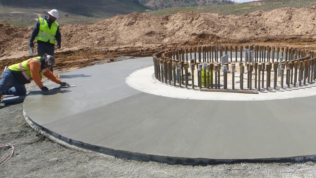 G2P foundation under construction