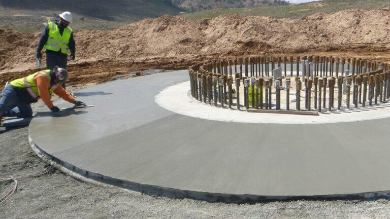 Terracon G2P wind foundation